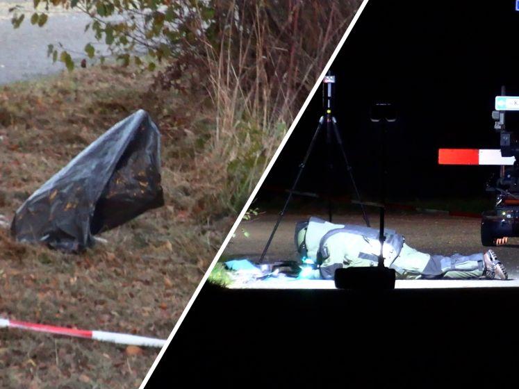 Zeer instabiel en explosief poeder gevonden in vuilniszakken langs de weg bij Halle