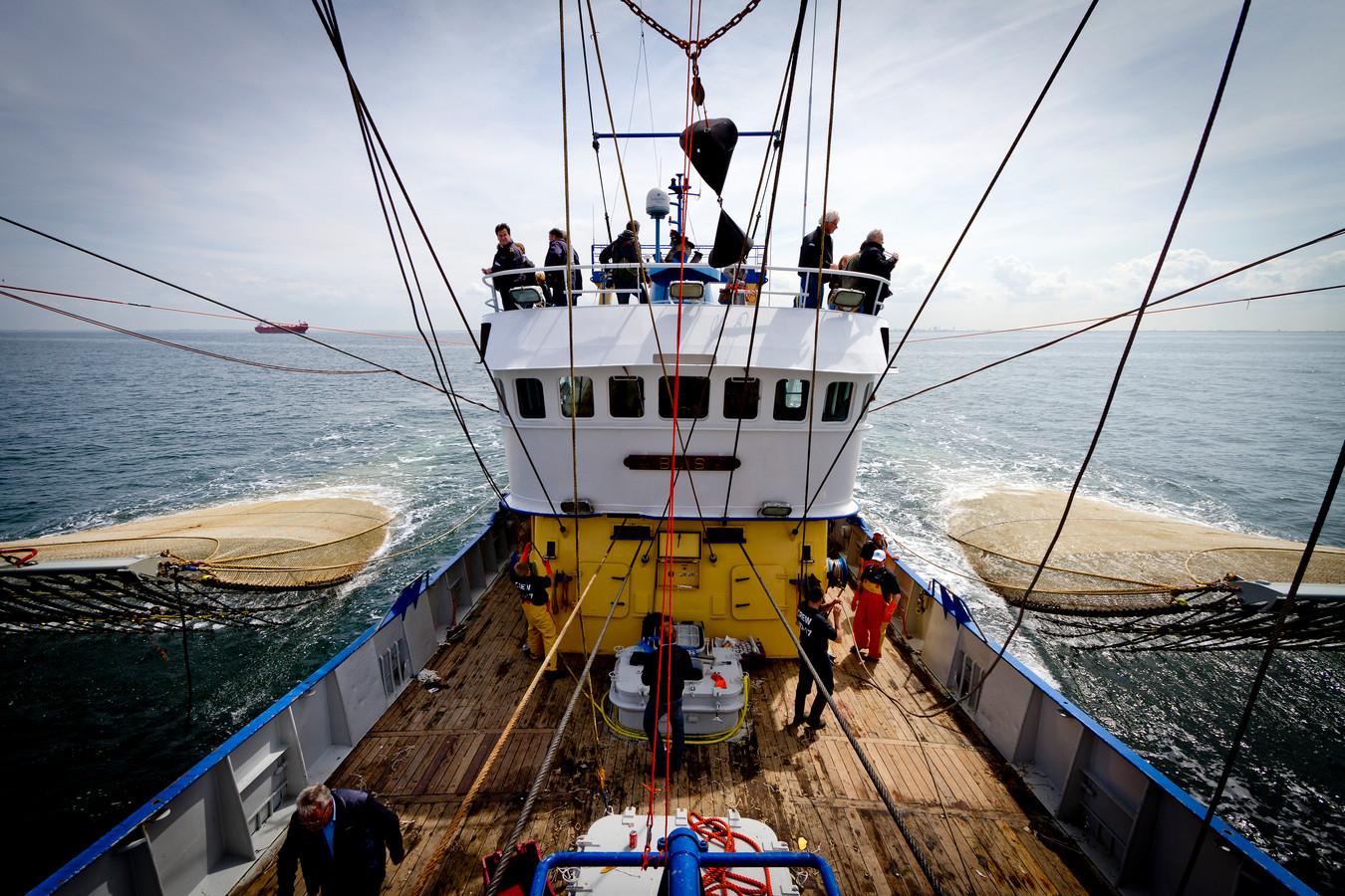Ook in de visserij ging werkgelegenheid verloren.