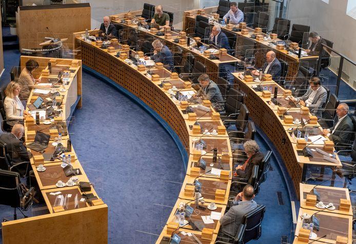 De Statencommissie ruimte debatteert over de PFAS-kwestie.