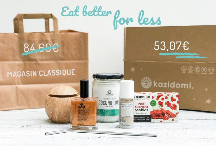 Des réductions sur des produits sains toute l'année.
