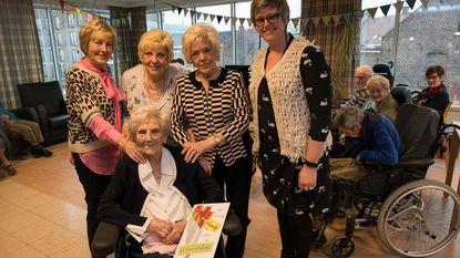 Jeanne Derycke viert 101ste verjaardag