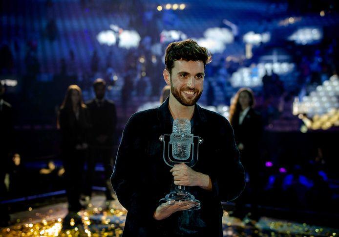 Duncan Laurence won zaterdagavond voor Nederland het Eurovisie Songfestival met zijn nummer Arcade.