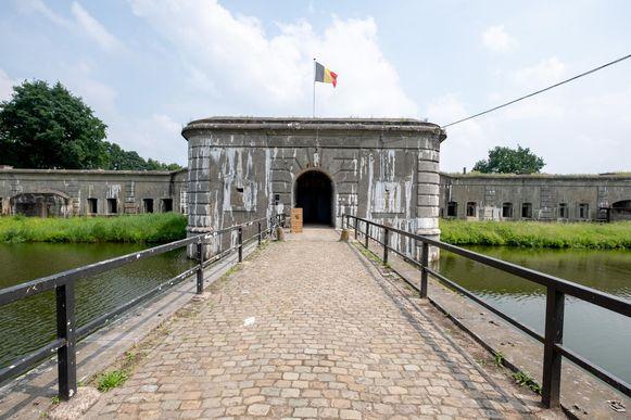 Het Fort van Kessel werd tijdens WO I getroffen door 120 zware bommen van de Duitsers.