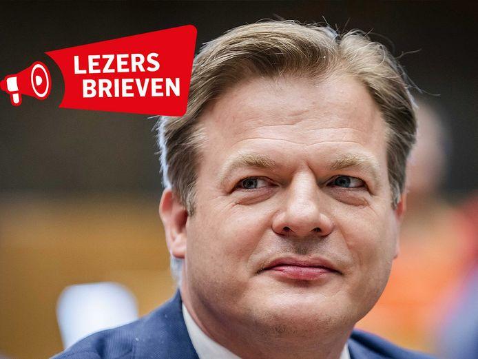 Pieter Omtzigt (CDA) in de plenaire zaal voorafgaand aan de beediging van de leden van de Tweede Kamer.