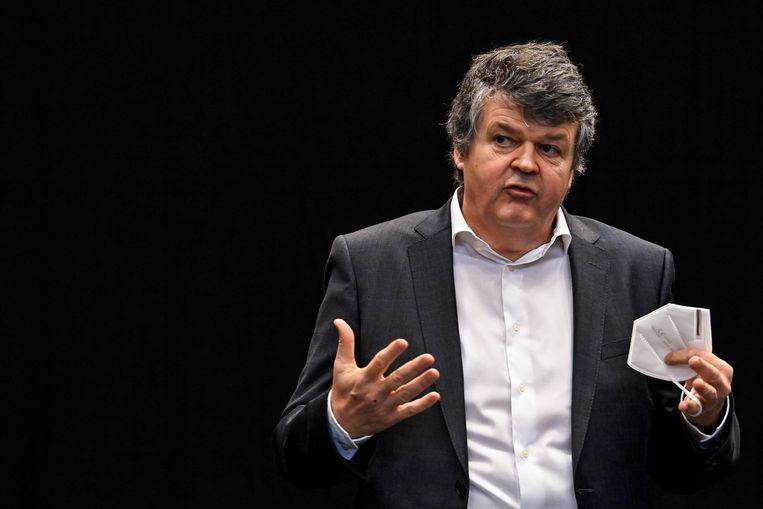 Vlaams minister van Binnenlands Bestuur Bart Somers (Open Vld) wil Vlaanderen opdelen in 13 regio's. Beeld BELGA