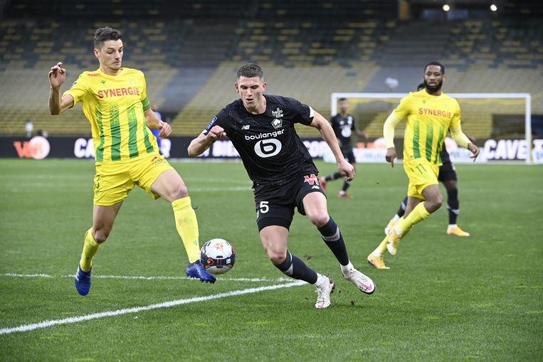 Nantes-Lille (0-2)   Beeld Hollandse Hoogte / Presse Sports