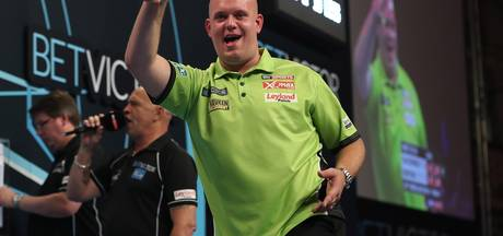 Vliegende start Van Gerwen op World Matchplay