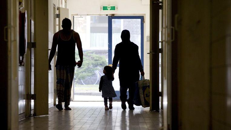 Het asielzoekerscentrum Crailo in Laren. Beeld anp