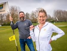 Geen kak maar cool: Mark en Annemarie ontwerpen stoere kleding voor de golfbaan