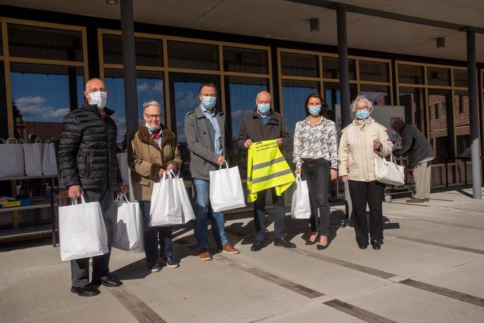 Feestmaaltijden voor de vrijwilligers van de Zorgband Leie&Schelde.
