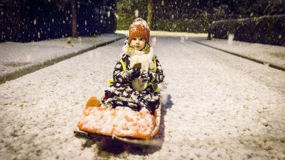 Volgend weekend kan het opnieuw gaan sneeuwen