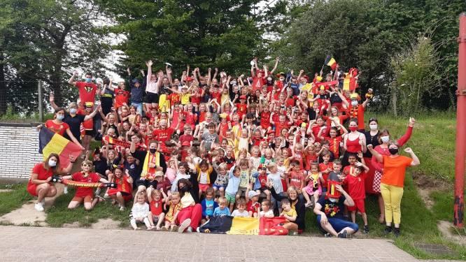BroeBELschool al helemaal in de sfeer van het WK voetbal