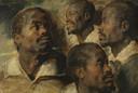 In het atelier van Rubens werden verschillende studiekoppen of 'tronies' geschilderd om later in te passen in verschillende schilderijen.