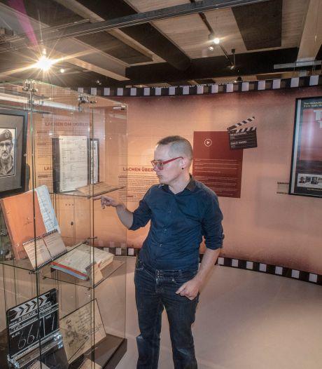 Wachten op de helm van Brad Pitt, voor expositie vol oorlogsfilms