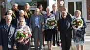 Gemeente zet jubilarissen in de bloemetjes