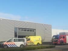 Bedrijfsongeval op Tiels industriepark Medel; slachtoffer bekneld