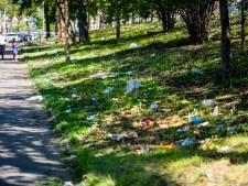 Coronavirus maakt aanpak zwerfvuil nóg lastiger, gemeente maakt vuilniszakken niet meer open