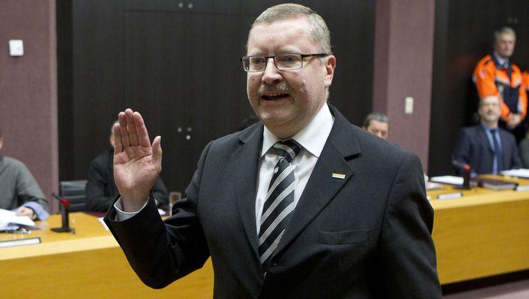 N-VA-burgemeester Jan De Dier. Beeld BELGA