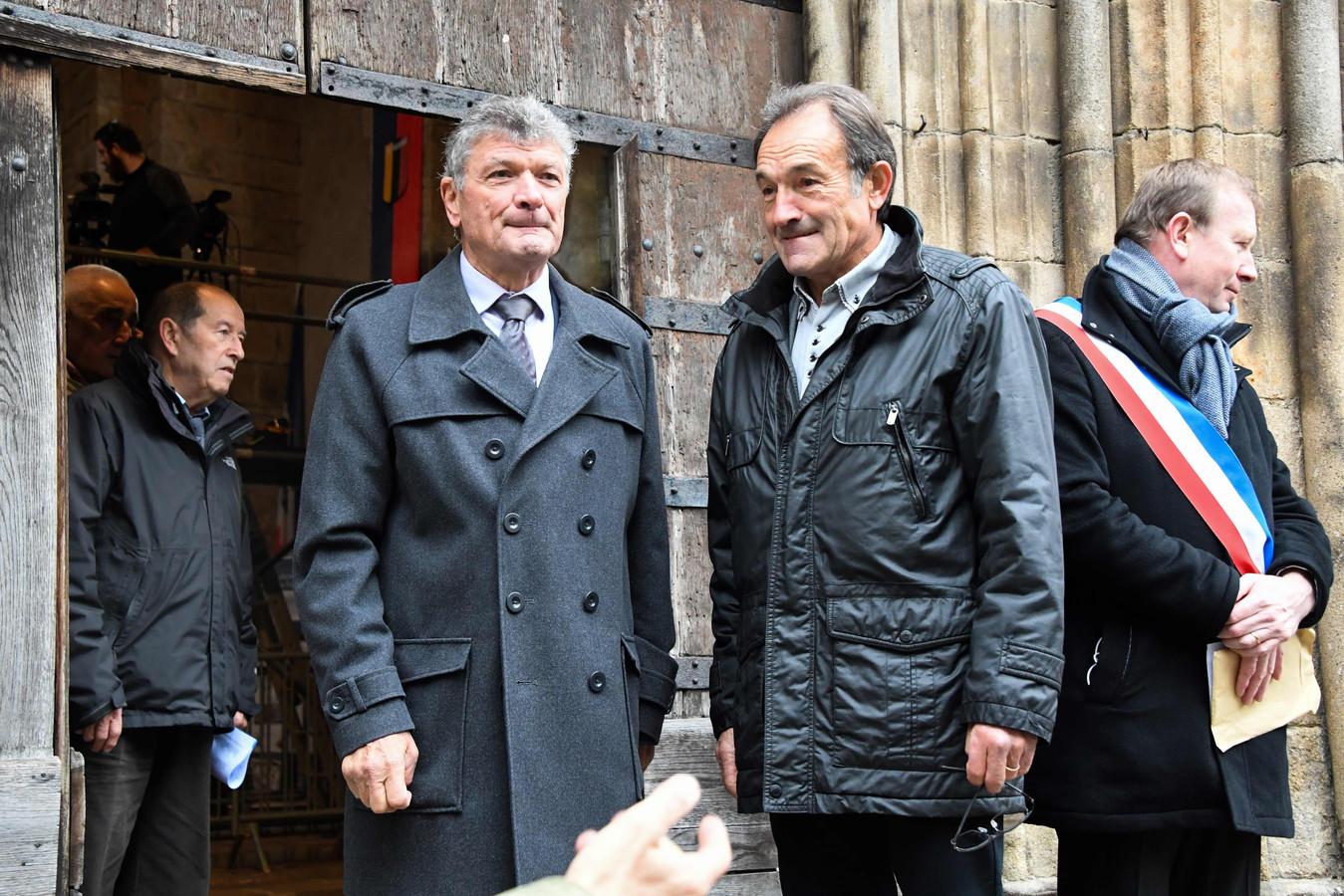 Bernard Thévenet en Gilbert Duclos-Lassalle.
