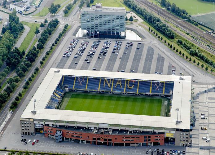 Voetbal stadion NAC Breda.
