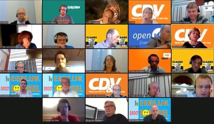 Digitale gemeenteraad Zoersel