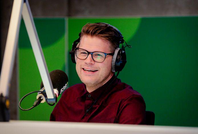 538-dj Coen Swijnenberg is voorlopig niet op de zender te horen.
