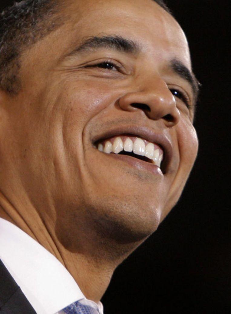 Nu hij het hoogste ambt heeft bereikt, 47 jaar jong, bestaat de verleiding Obama te zien als een zondagskind. Foto AP Beeld