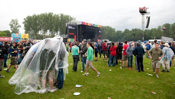 Extra veiligheidsmaatregelen op festivalweide in Werchter