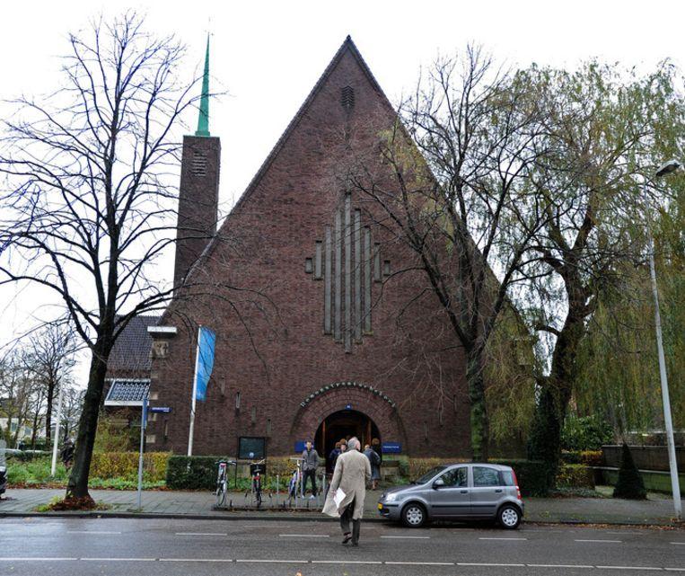 De Remonstrantse Gemeente Vrijburg in Amsterdam. Beeld ANP