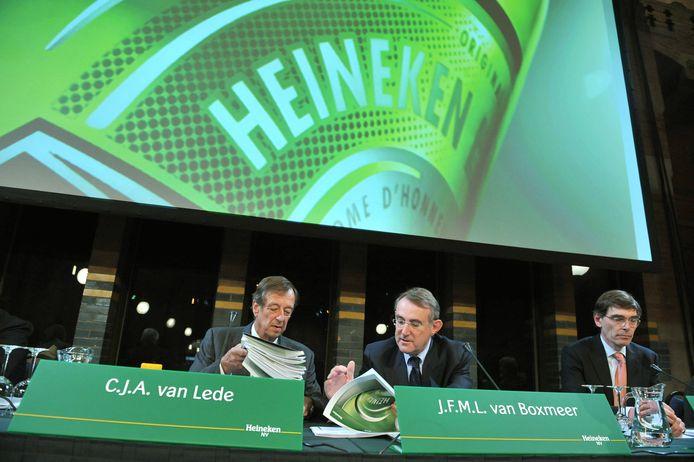 Heinekens laatste aandeelhoudersvergadering, waarin de brouwer onderzoek aankondigde naar de gemelde misstanden rond biermeisjes.
