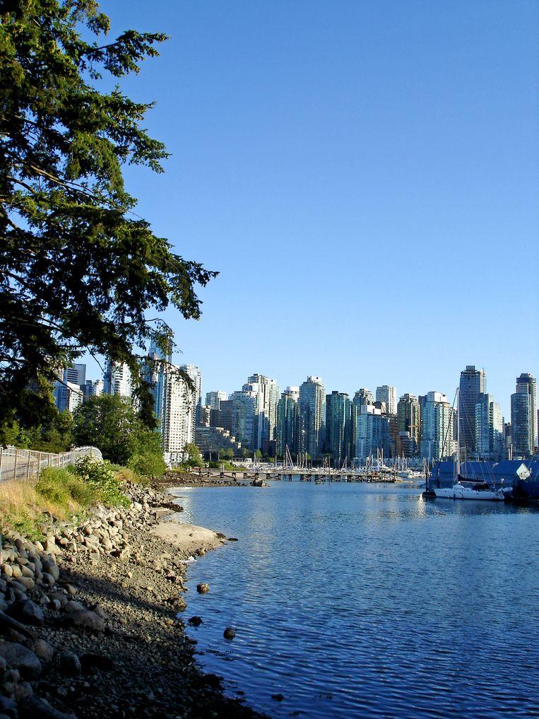 Harbor View in Vancouver, Canada.  Beeld Shutterstock
