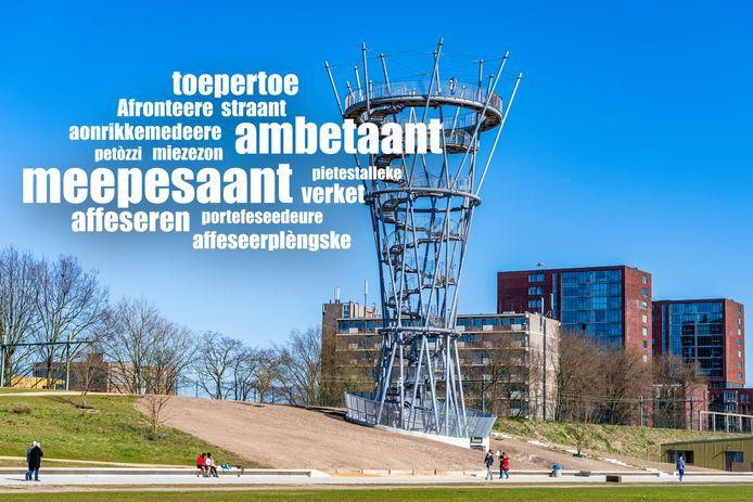 frans tilburgs woord cloud spoorpark