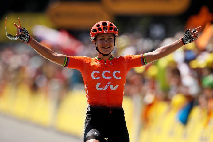 Wie is Marianne Vos (33) - hier nog juichend namens CCC-Liv - en wat wil ze nog?