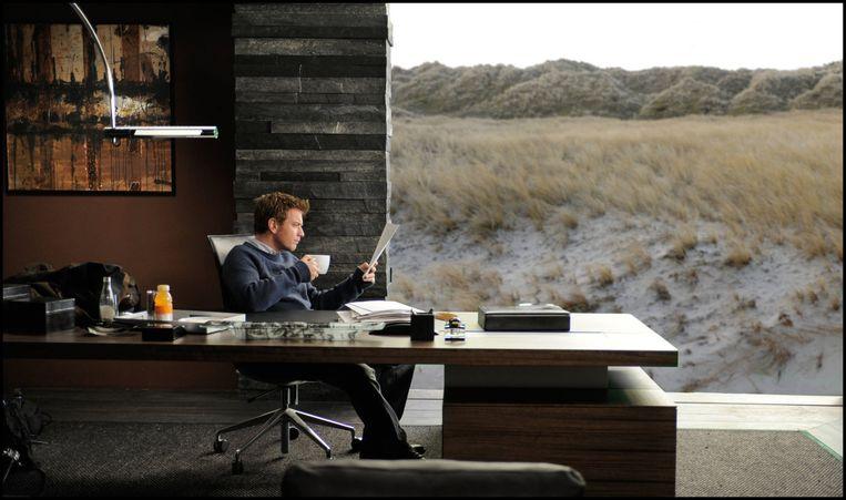 Ewan McGregor als ghostwriter in The Ghost Writer. Beeld R.P. Productions