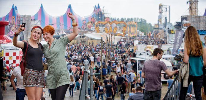 Een vol festivalterrein in Schijndel, als het aan Paaspop ligt is dit in september weer het geval.