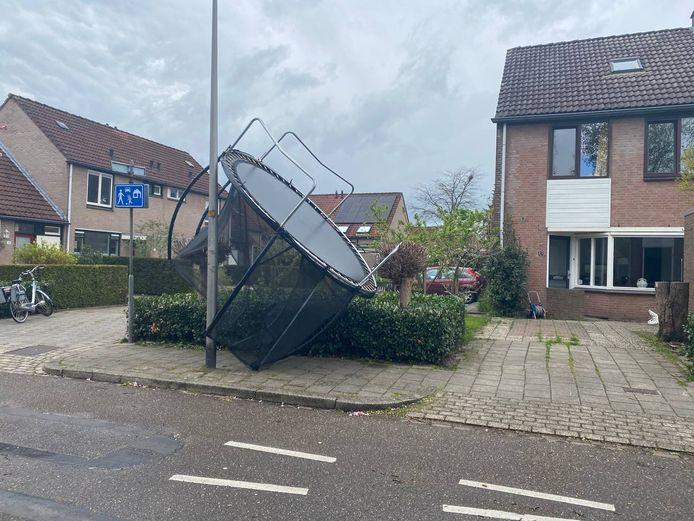 Trampoline kwijt Hengelo