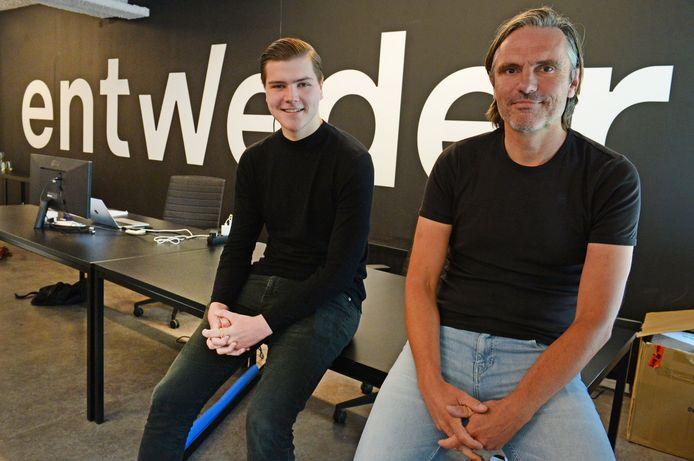 Knoed en Sven Brookhuis willen een vastgoedfonds dat ook open staat voor 'kleine' beleggers.