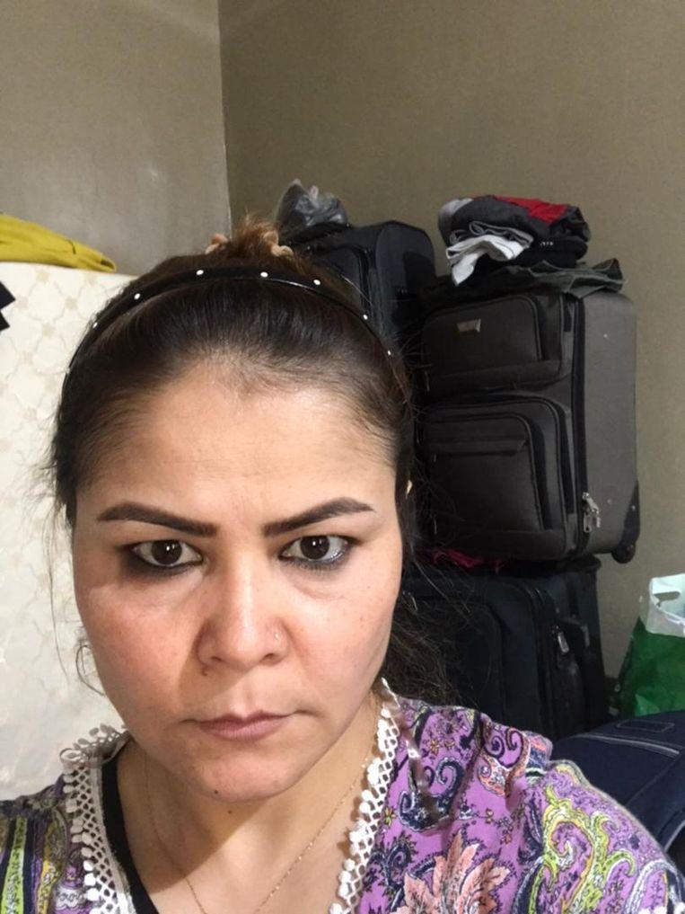 Nassima Ahmadi. Beeld Nassima Ahmadi