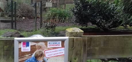 Rookplekken in twee kinderboerderijen Apeldoorn