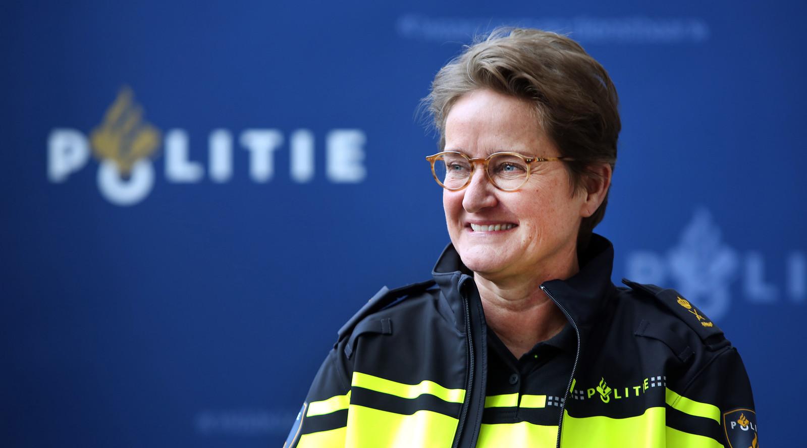 Hanneke Ekelmans, politiechef van de eenheid Zeeland-West-Brabant