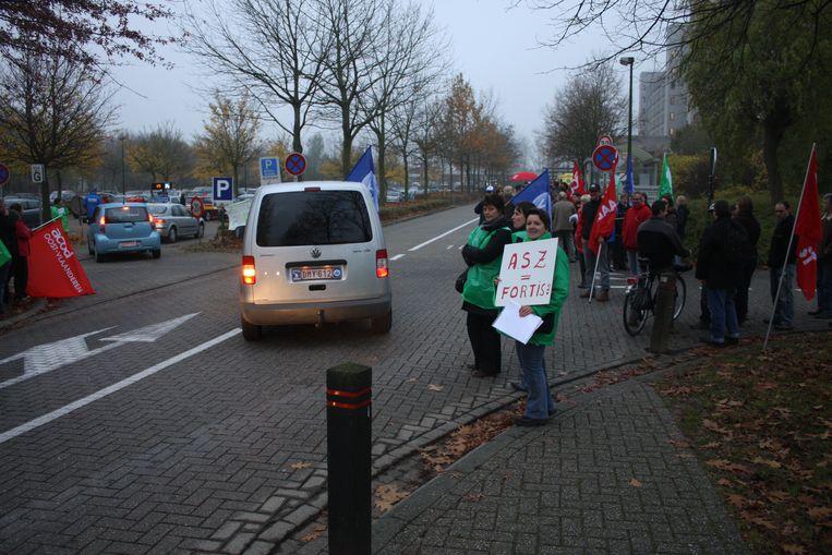 In 2011 kwam het tot stakingsacties bij de vakbonden.