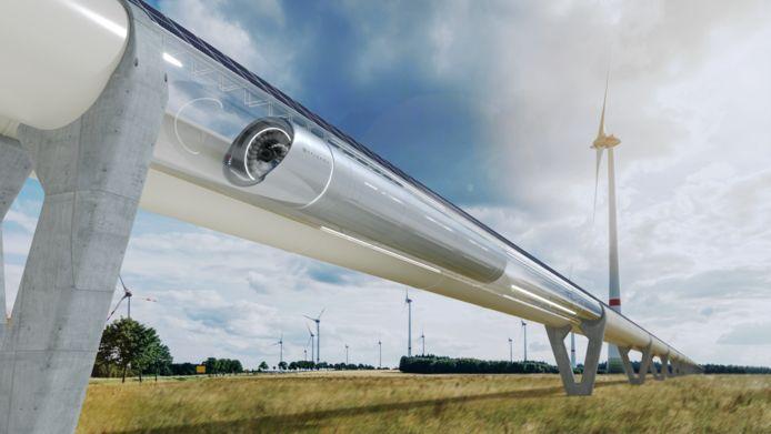 De versie van de Hyperloop waaraan het Spaanse Zeleros momenteel werkt