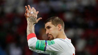 """Sergio Ramos haalt uit naar 'Pluisje': """"Maradona staat lichtjaren achter Lionel Messi als beste Argentijn"""""""
