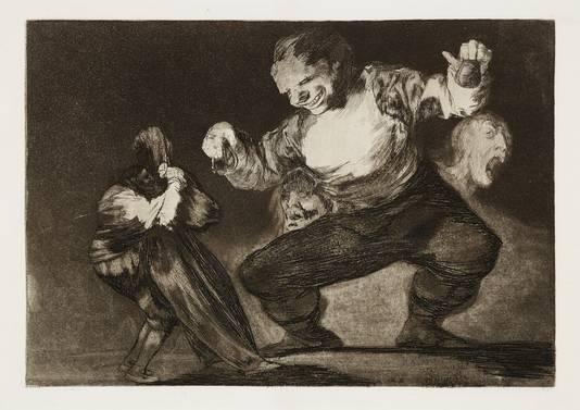 Bobalicón (Silly Idiot) uit 1864 van Goya.