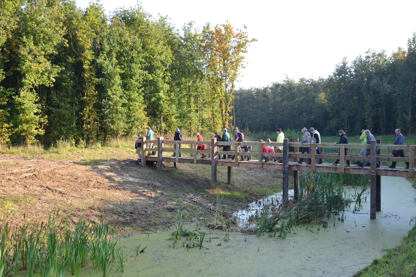 Tijdens het evenement 'Met grote goesting langs het water' kan je op  3 locaties, de Fintele, Elzendamme en het Eversambos (foto), deelnemen aan verschillende activiteiten voor groot en klein.
