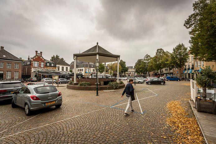 De Markt in Sint-Oedenrode.