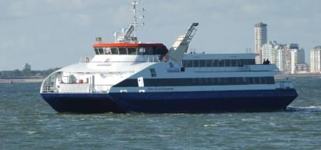 Omzet Westerschelde Ferry door corona gehalveerd