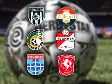 Heracles-Willem II, Fortuna Sittard-FC Emmen, PEC Zwolle-FC Twente