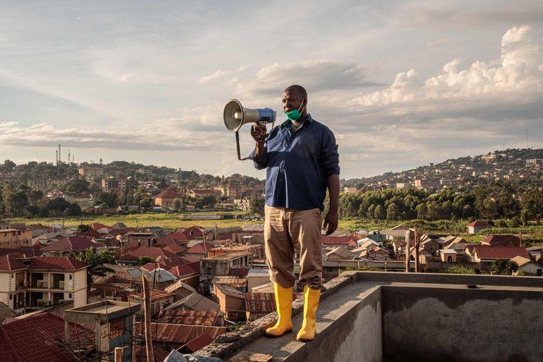 Kampala, de hoofdstad van Oeganda. Beeld AFP