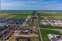 Ten noorden van Stadshagen in Zwolle is volgens het Economisch Instituut voor de Bouw ruimte voor de bouw van 35.000 woningen, een stad ter grootte van Lelystad.